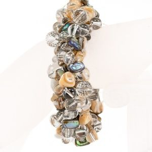 Anthology Jewelry - Anthology Multi Gemstone Chunky Bracelet